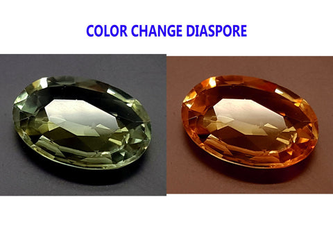5.35CT DIASPORE COLOR CHANGE ZULTANITE IGCDS21