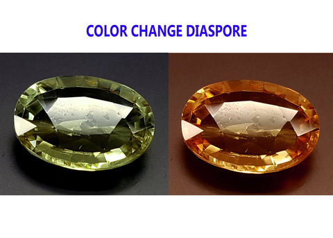 3.6CT DIASPORE COLOR CHANGE ZULTANITE IGCDS22