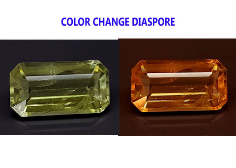 3.7CT DIASPORE COLOR CHANGE ZULTANITE IGCDS06