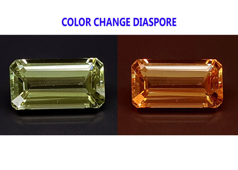 2.25CT DIASPORE COLOR CHANGE ZULTANITE IGCDS07