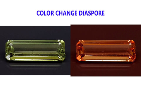 3.7CT DIASPORE COLOR CHANGE ZULTANITE IGCDS08