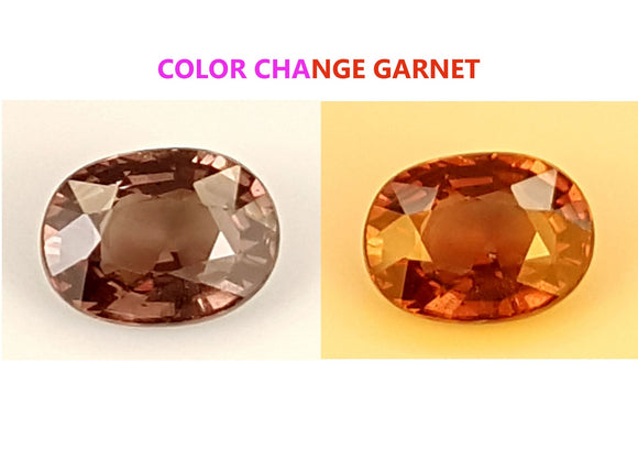 1.35 CT GARNET COLOR CHANGE GEMSTONE IGCCGR13 - imaangems17