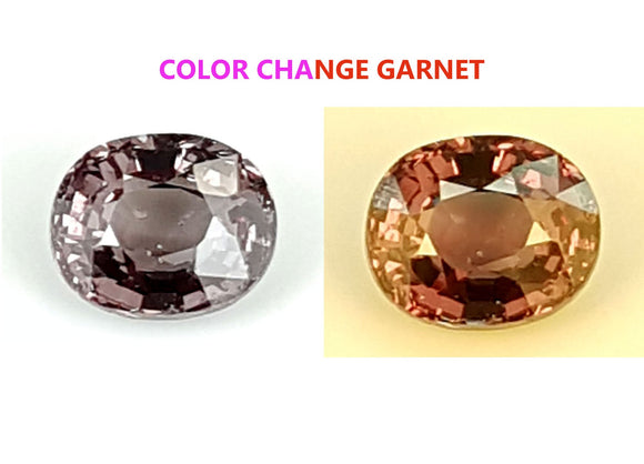 1.15 CT GARNET COLOR CHANGE GEMSTONE IGCCGR17 - imaangems17