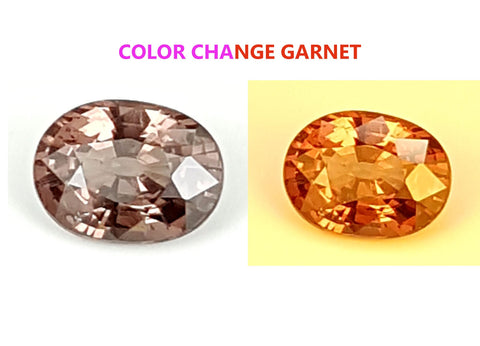 1.3 CT GARNET COLOR CHANGE GEMSTONE IGCCGR21