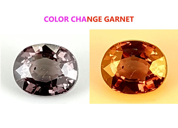 1.35 CT GARNET COLOR CHANGE GEMSTONE IGCCGR25 - imaangems17