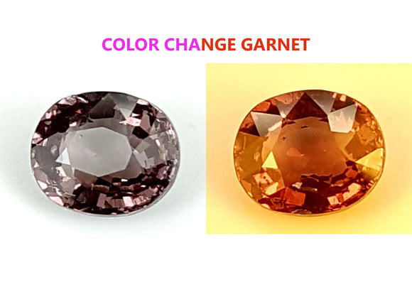 1.4 CT GARNET COLOR CHANGE GEMSTONE IGCCGR26 - imaangems17