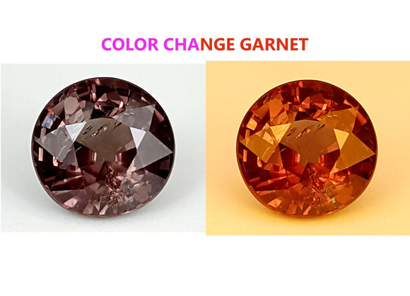 1.45 CT GARNET COLOR CHANGE GEMSTONE IGCCGR28 - imaangems17