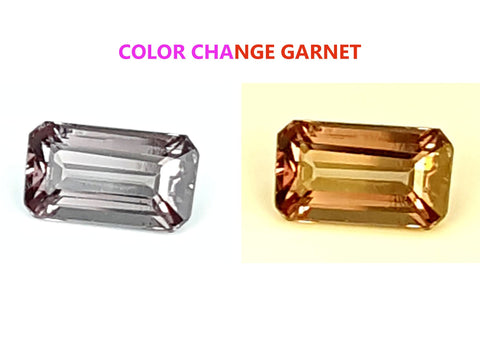 1.25 CT GARNET COLOR CHANGE GEMSTONE IGCCGR35