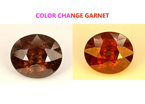 3.7 CT GARNET COLOR CHANGE GEMSTONE IGCCGR08