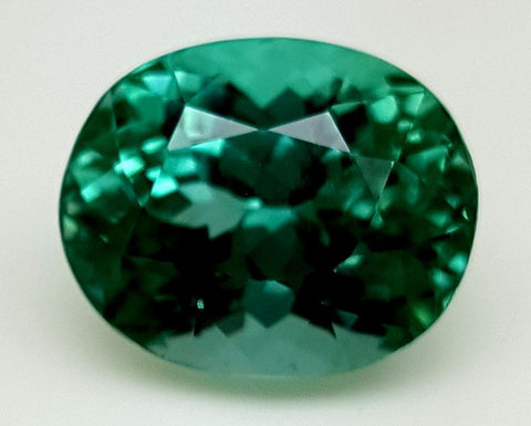 10.49CT GREEN SPODUMENE GEMSTONE IGCGP10