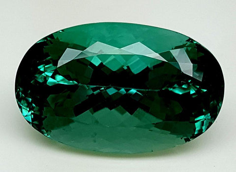 30.09CT GREEN SPODUMENE GEMSTONE IGCGP02