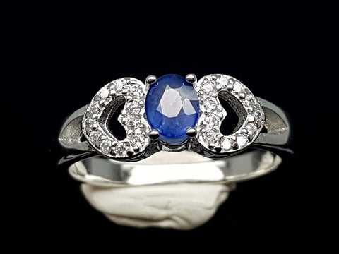 15.85CT NATURAL SAPPHIRE 925 SILVER RING IGCSR10 - imaangems17
