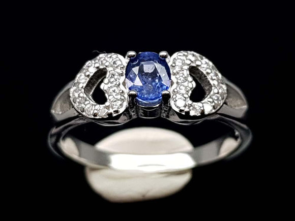 15.85CT NATURAL SAPPHIRE 925 SILVER RING IGCSR15 - imaangems17