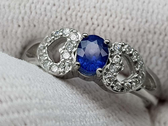 15.85CT NATURAL SAPPHIRE 925 SILVER RING IGCSR25 - imaangems17