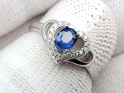 15.25CT NATURAL SAPPHIRE 925 SILVER RING IGCSPR07 - imaangems17