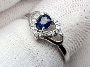 15.25CT NATURAL SAPPHIRE 925 SILVER RING IGCSPR11 - imaangems17