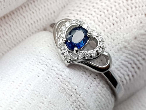 15.25CT NATURAL SAPPHIRE 925 SILVER RING IGCSPR13 - imaangems17