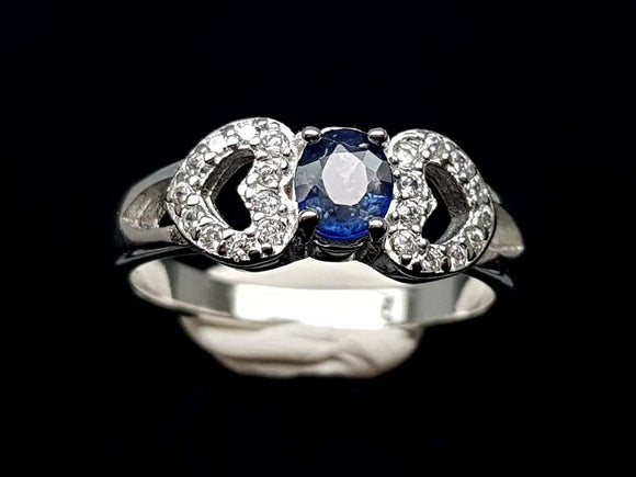 15.85CT NATURAL SAPPHIRE 925 SILVER RING IGCSR09 - imaangems17