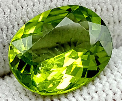 4CT  Peridot  Of Pakistan Origin igctnpp12