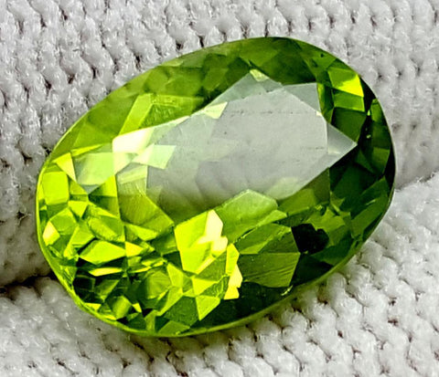 3.75CT Peridot  Of Pakistan Origin igctnpp18
