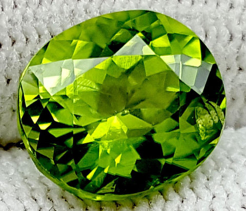 4.35CT Peridot  Of Pakistan Origin igctnpp19