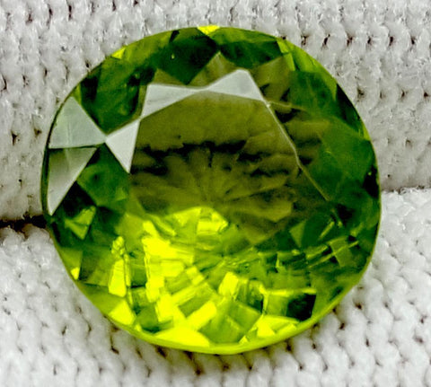 3.45CT Peridot  Of Pakistan Origin igctnpp22
