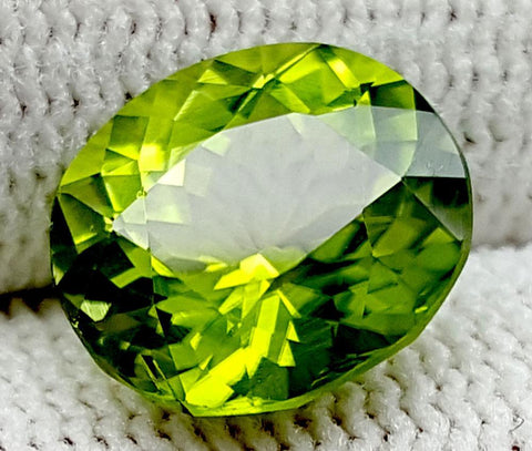 3.55CT Peridot  Of Pakistan Origin igctnpp23