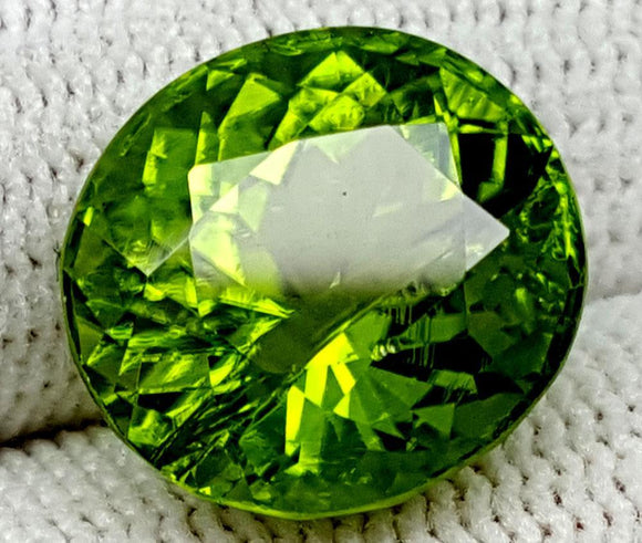 8.45CT Peridot  Of Pakistan Origin igctnpp66 - imaangems17