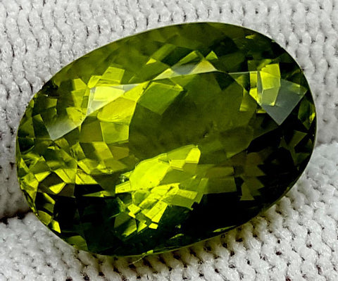 10.95CT  Peridot  Of Pakistan Origin igctnpp08
