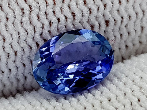 1.28ct Natural Tanzanite Gemstone igcntt28