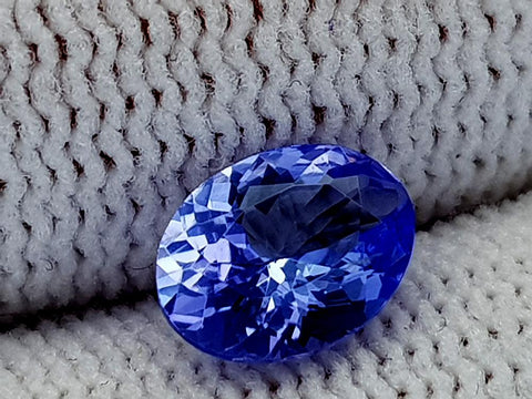 1.11ct Natural Tanzanite Gemstone igcntt32