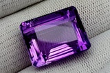 30CT NATURAL AMETHYST GEMSTONES IGCAMTH52