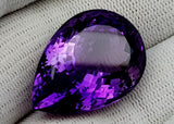 37CT NATURAL AMETHYST GEMSTONES IGCAMTH75