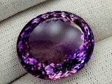 49Ct Natural Amethyst Gemstones IGCam19
