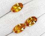 11.55CT MADEIRA CITRINE TOP CUT STONES IGCNMC14