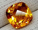 10.25CT MADEIRA CITRINE TOP CUT STONES IGCNMC09