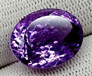 17CT NATURAL AMETHYST GEMSTONE IGCNAM13 - imaangems17