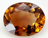 4.7CT ULTRA RARE CLINOHUMITE OF TAJIKISTAN IGCRC01