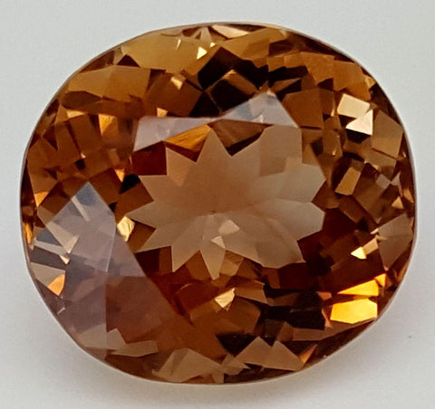 12 CT NATURAL TOPAZ GEMSTONE OF PAKISTAN IGCNT37