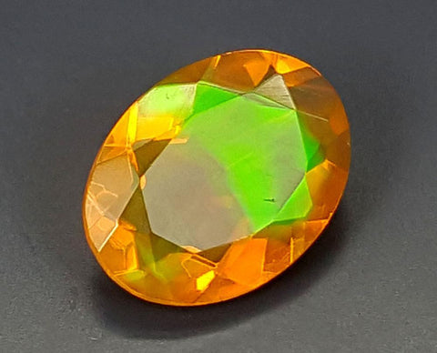 0.75CT FACETED OPAL HIGH FIRE STONE IGCOP12