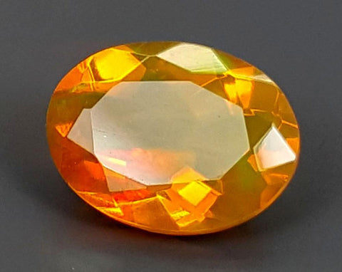0.95CT FACETED OPAL HIGH FIRE STONE IGCOP13