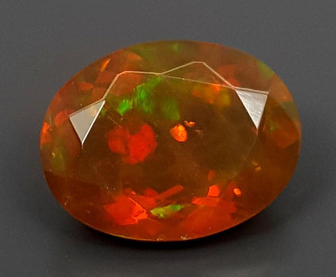 1.35CT FACETED OPAL HIGH FIRE STONE IGCOP03 - imaangems17