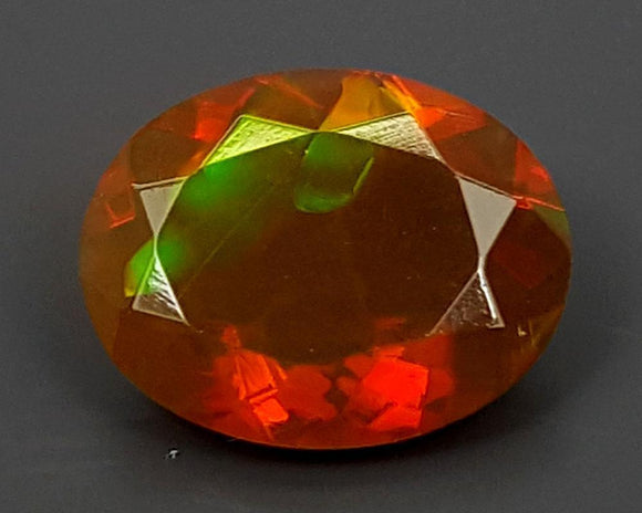 1.15CT FACETED OPAL HIGH FIRE STONE IGCOP04 - imaangems17