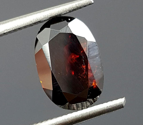 1.75CT RARE FACETED RUTILE IN THE WORLD IGCRRU09