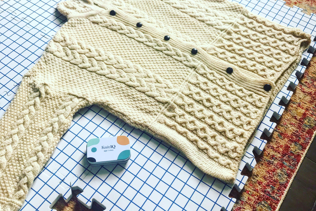Blocking your Knitting or Crochet: An Overview