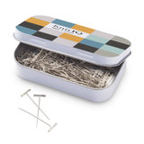 KnitIQ T-Pins for Blocking, Knitting & Sewing | Checkered Design