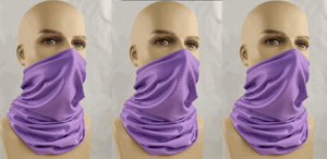 FACEBANDS by Underalls - 3-Pack Special (Purple)