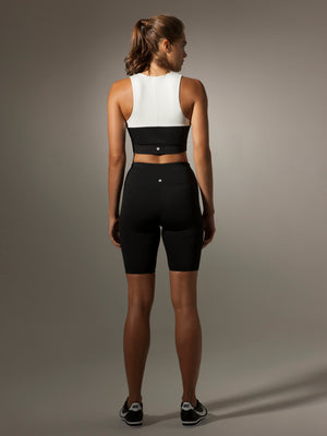 Essential Biker Short in Black