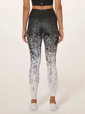 Uprising in Black/White Leggings