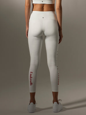 I-Ching Dragon in The Sky in White Leggings